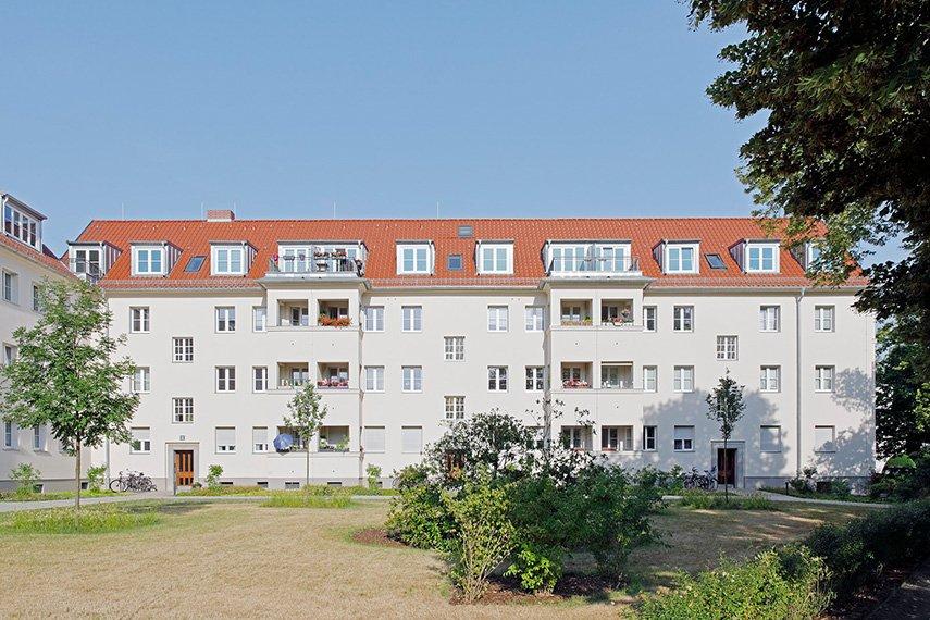 Ansicht Gebäudeflügel
