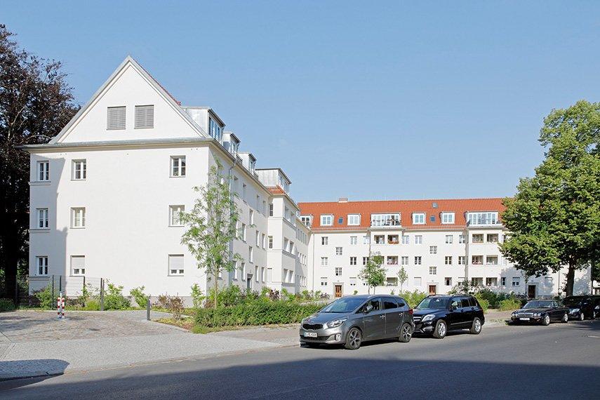 Ansicht von der Berkaer Straße