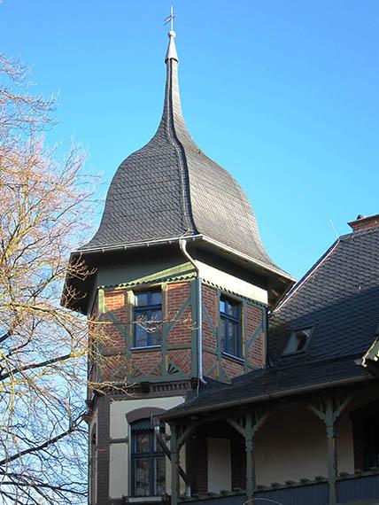 Detailansicht Turm
