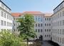 Ansicht Gebäudeflügel mit Aula
