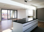 Loggia zur Straße  - Wohnraum - Küche