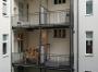 Hofansicht mit neuen Balkonen