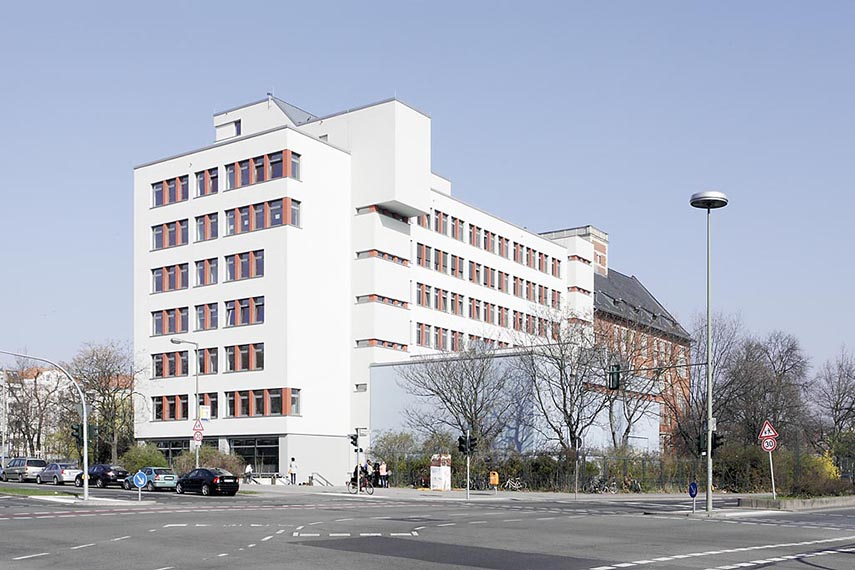 Ansicht Altonaer Str./Lessingstraße
