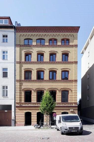 factory - Ansicht von der Rheinsberger Strasse