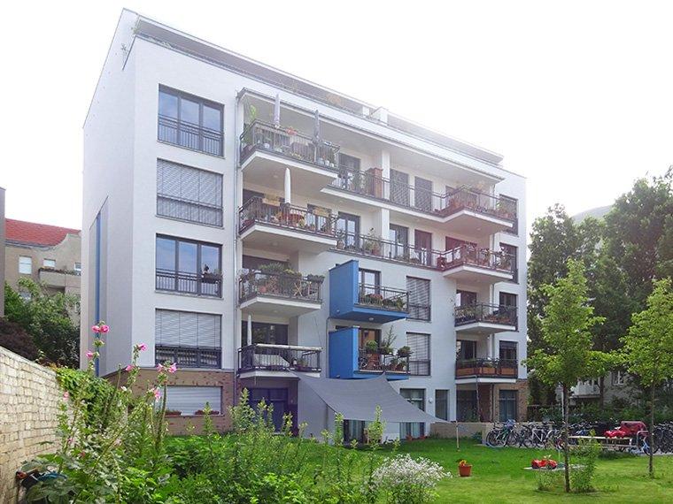 Ansicht Garten Haus Kirchgasse