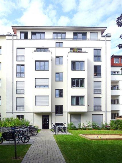 Ansicht Garten Haus Richardstraße