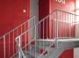 Detail der neuen Treppe