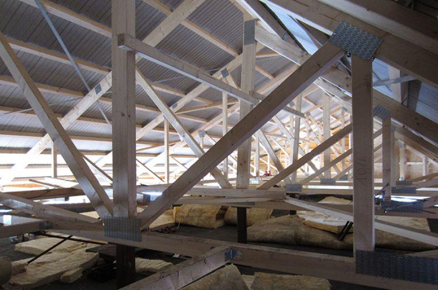 Alte Eisbahn Lankwitz - Neubau eines Schallschutzdachs