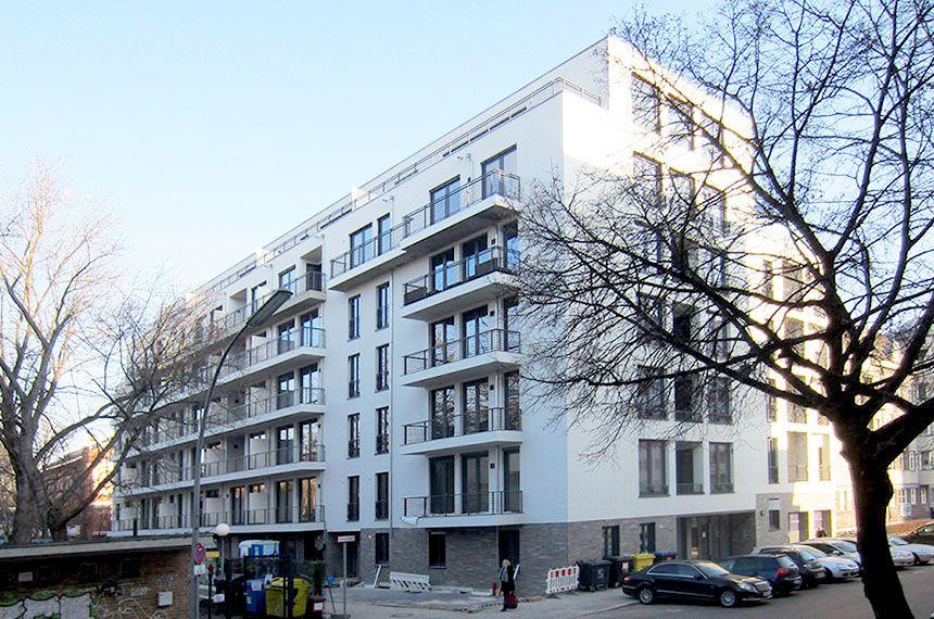 Wohnbebauung in Berlin-Charlottenburg
