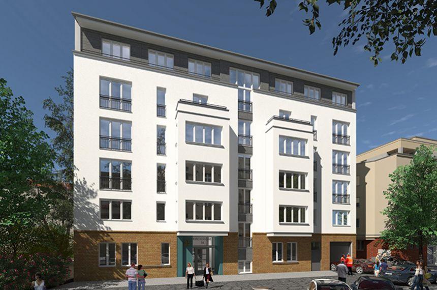Neubau Mehrfamilienhäuser, Umnutzung Gartenhaus